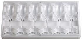 Coffret 6 flûtes à champagne gravées avec motif